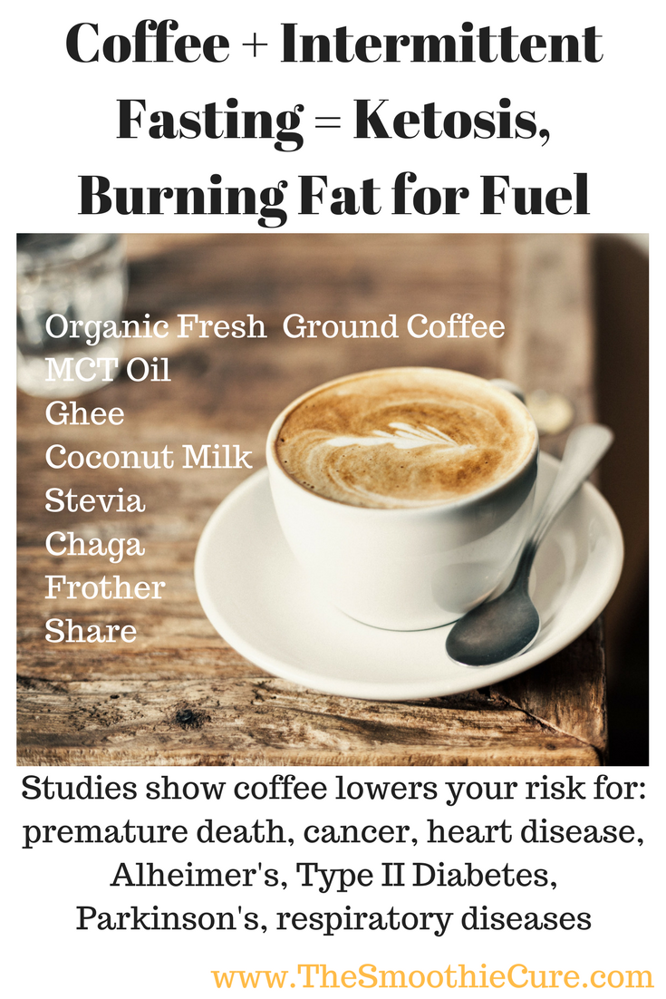 Coffee + Intermittent Fasting = Ketosis, Burning Fat for ...